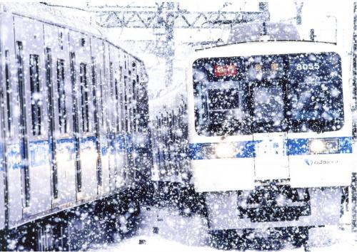A100 雪の多摩線 栗原 碧生 多摩線 2020/03/29