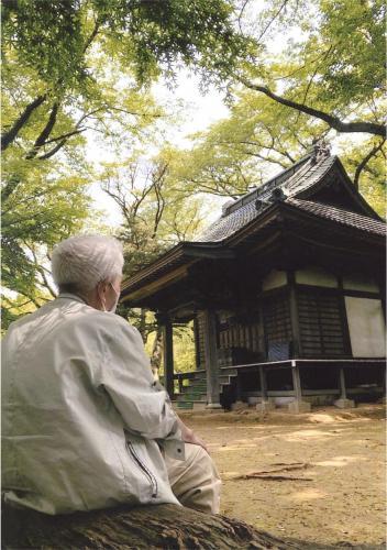 A110 この場所にはたくさんの思いが… 石綿 竜大 浄慶寺内秋葉神社 2020/05/01