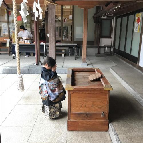 A156 5歳の願い オトーサン 琴平神社 2019/09/28