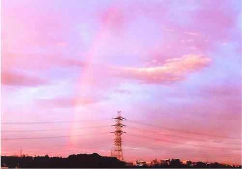 A106 竜雲なびく虹の架け橋 今井 森夫 柿生大橋から