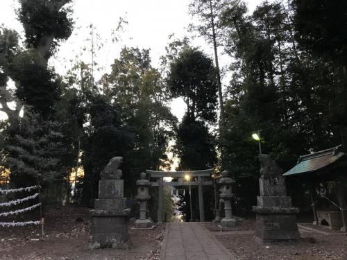 C157 朝の月読神社 りょう 月読神社 2021/01/10