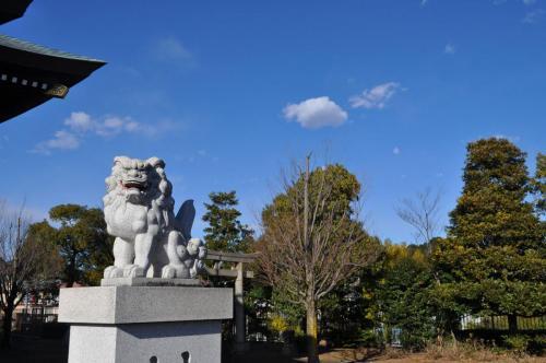 C086 栗木御嶽神社の守り神 たまご 栗木御嶽神社 2020/12/31